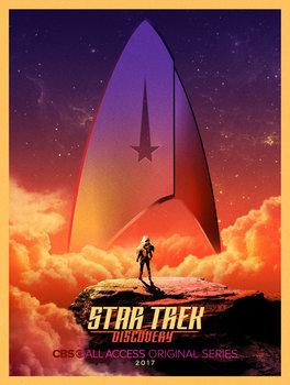 Постеры сериала «Звёздный путь: Дискавери»