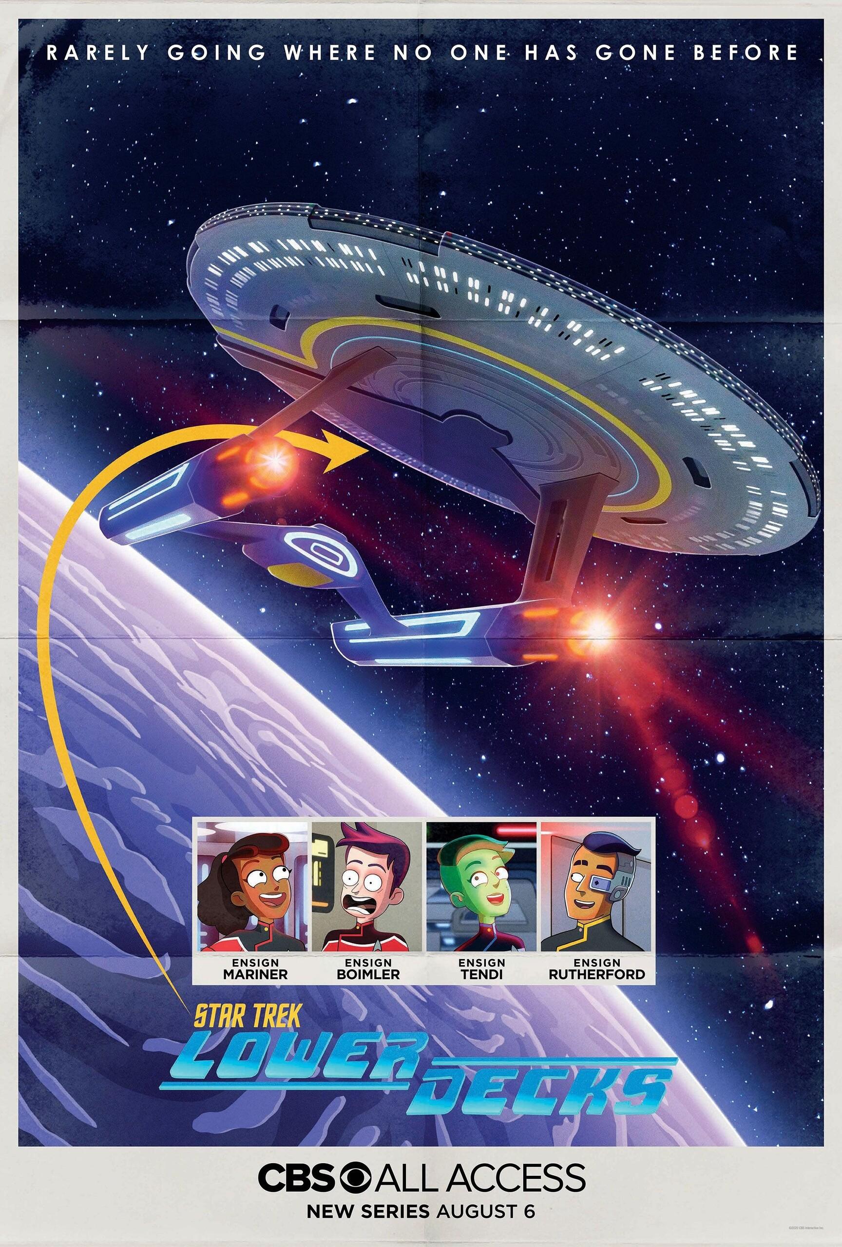 Звёздный путь: Нижние палубы, постер № 1