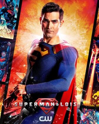 Постеры сериала «Супермен и Лоис»
