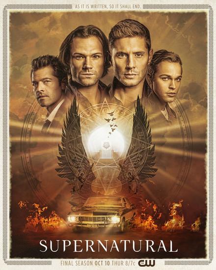 Постеры сериала «Сверхъестественное»