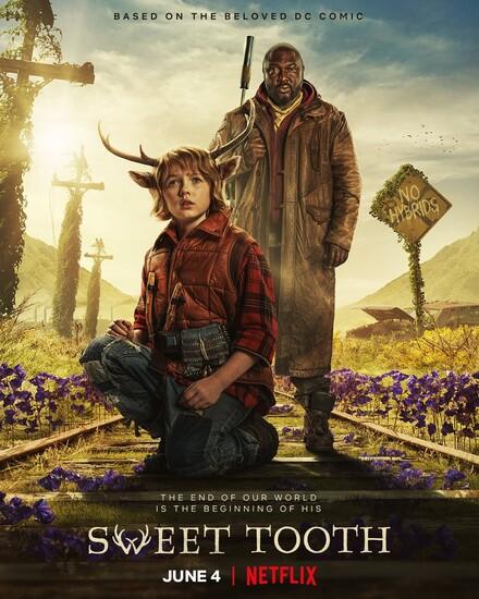 Постеры сериала «Sweet Tooth: мальчик с оленьими рогами»