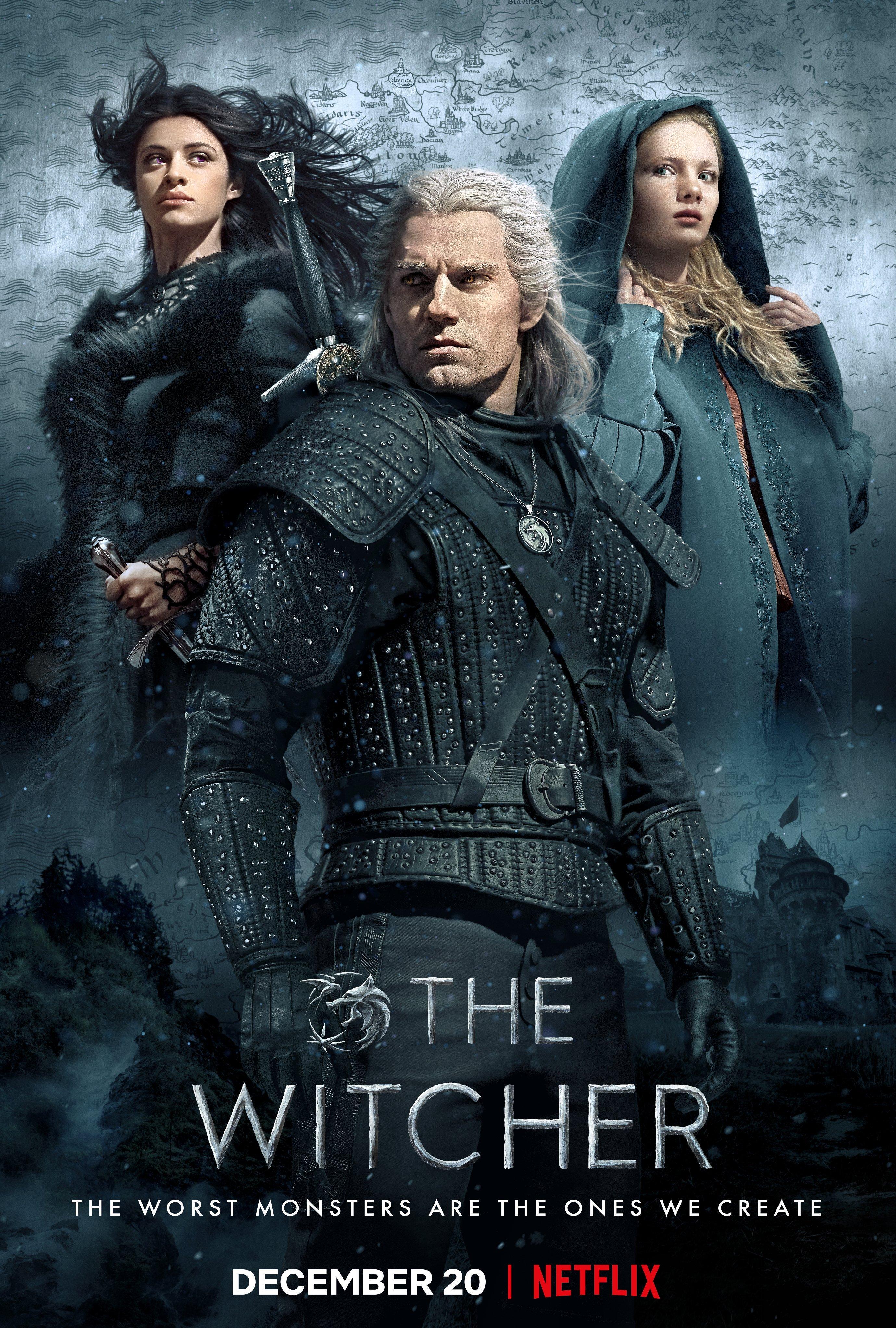 """witcher netflix official poster ile ilgili görsel sonucu"""""""