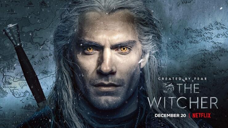 Постеры сериала «Ведьмак»