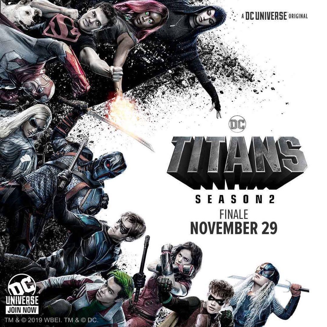 Титаны, постер № 12