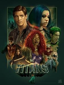Постеры сериала «Титаны»