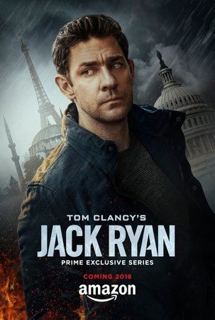 Постеры сериала «Джек Райан»