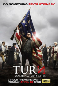 Постеры сериала «Поворот: Шпионы Вашингтона»