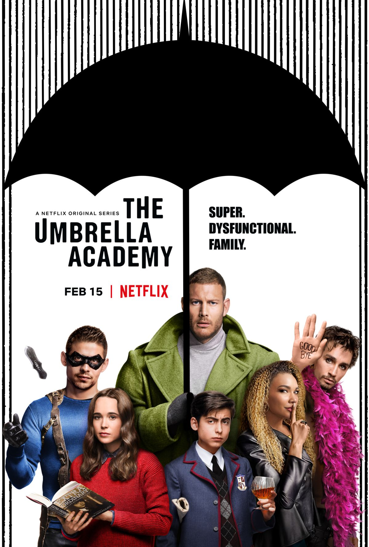 Академия Амбрелла, постер № 11