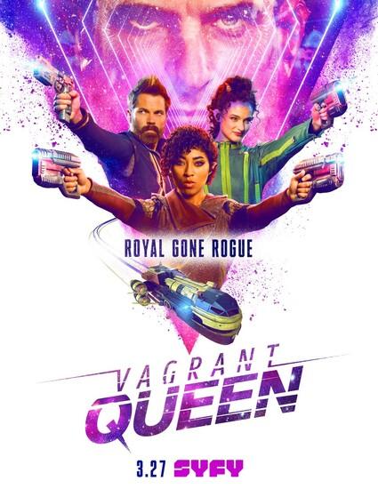 Постеры сериала «Бродячая королева»