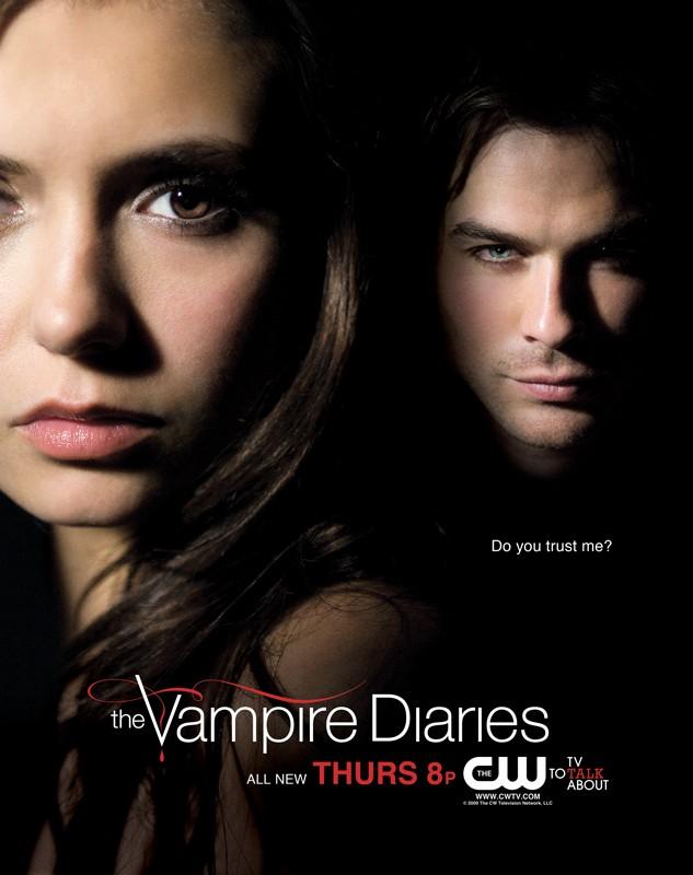 Дневники вампира vire diaries постер 4