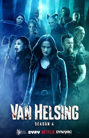 Постеры сериала «Ван Хельсинг»