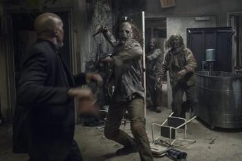 Кадры из сериала «Ходячие мертвецы»