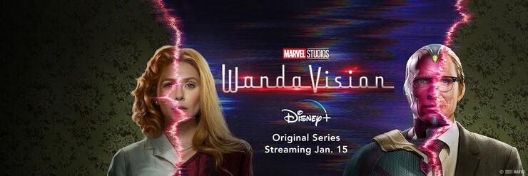 Постеры сериала «ВандаВижн»