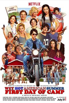 Постеры сериала «Жаркое американское лето»
