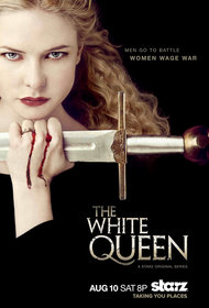 Постеры сериала «Белая королева»