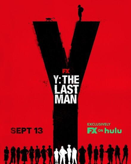 Постеры сериала «Игрек: Последний мужчина»